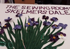 Panaz supporting The Sewing Rooms at Processions 2018 – Celebrating 100 years of votes for Women