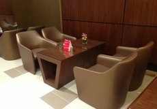 Panaz Stingray in Emirates Airlines Business Lounges