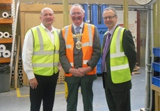 Panaz visited by Mayor of Pendle