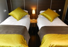 Indulgence adds vibrancy to hotel bedrooms