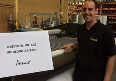 Panaz Fabrics #BuildingBritain