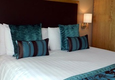 Aria used for bed runners and cushions for a quality look